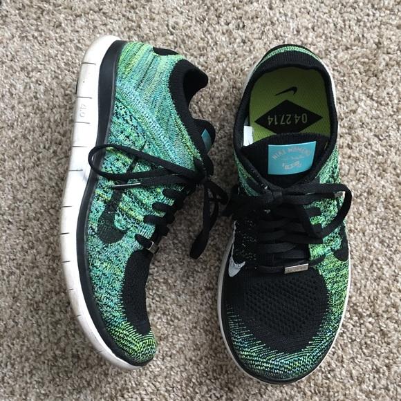 detailed look f98a7 33833 Women Nike Free 4.0 Flyknit Wash DC Half Marathon.  M 5b06ff14077b97a1f538f5d8